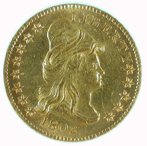 For sale: 1802 P Liberty Cap, Head Facing Right 1802/1 Two and a half Dollar NGC MS-64