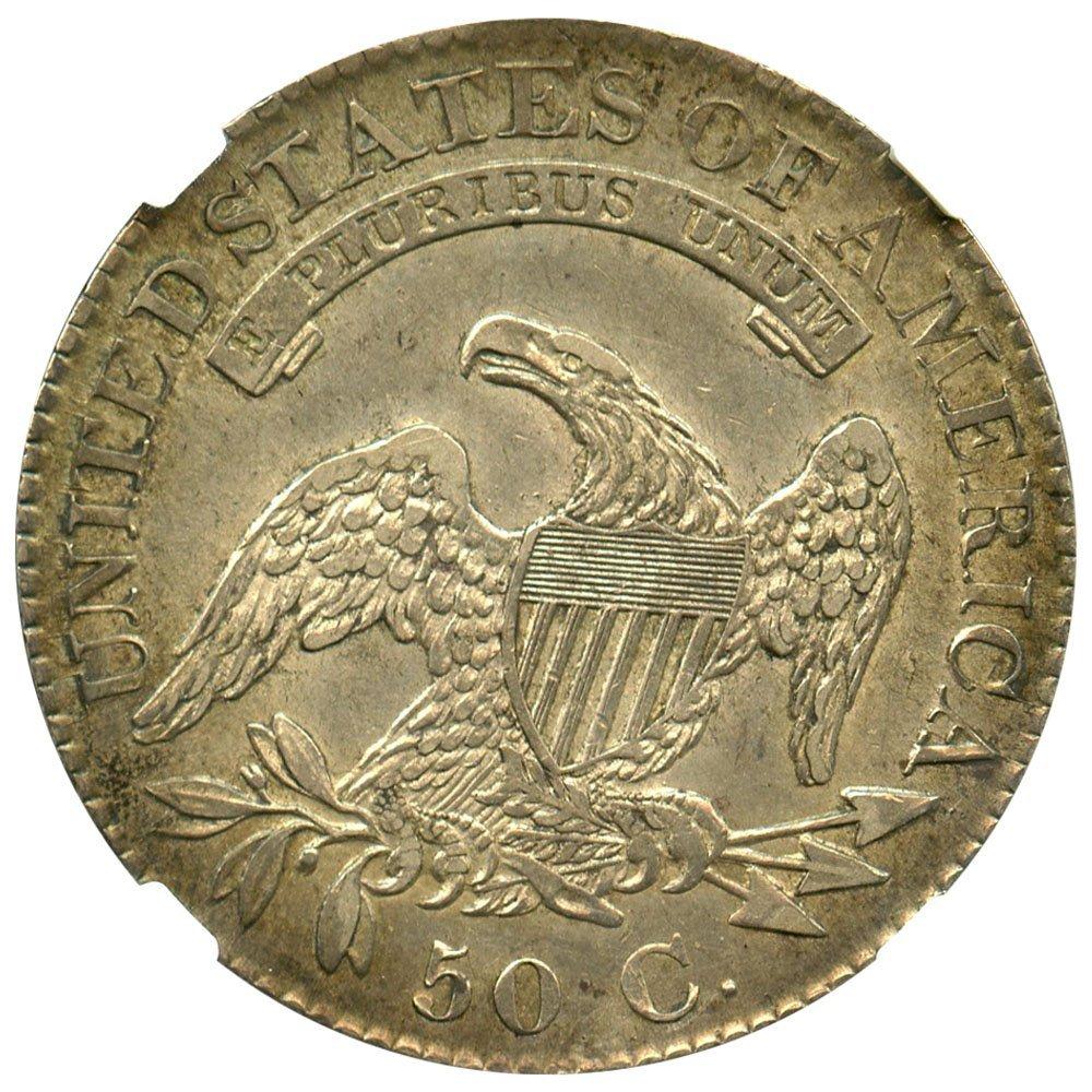1826 P Bust Half Dollars Half Dollar NGC AU53