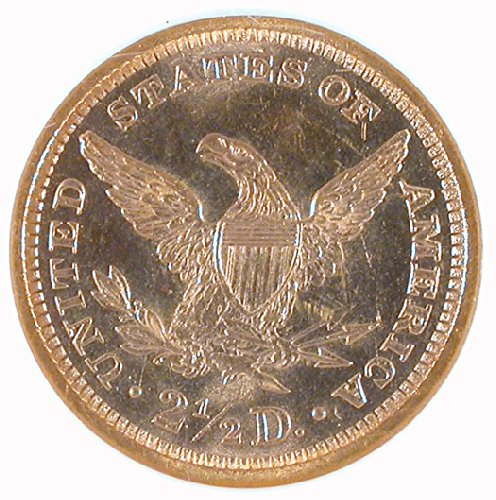 1876 P Liberty Head Two and a half Dollar NGC MS-65