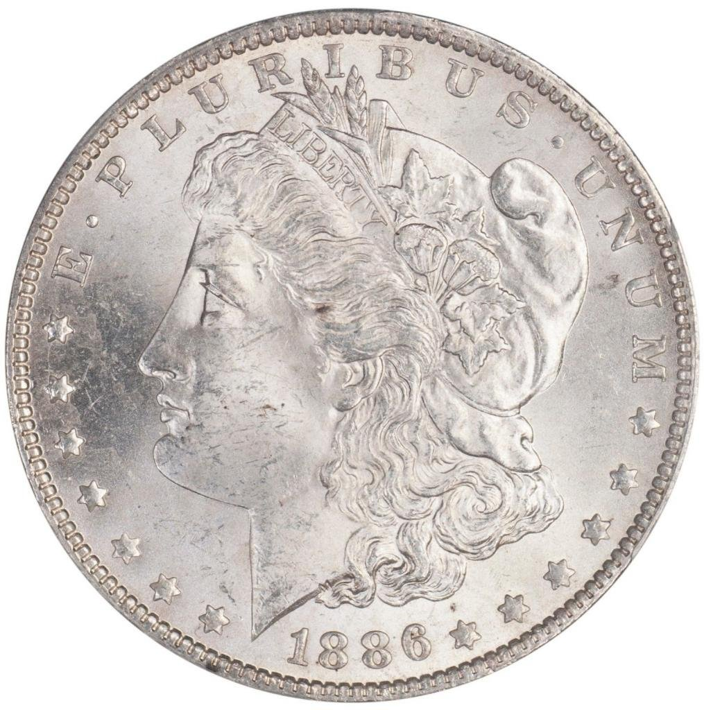 Rare coin for sale: 1886 O Morgan Dollar PCGS