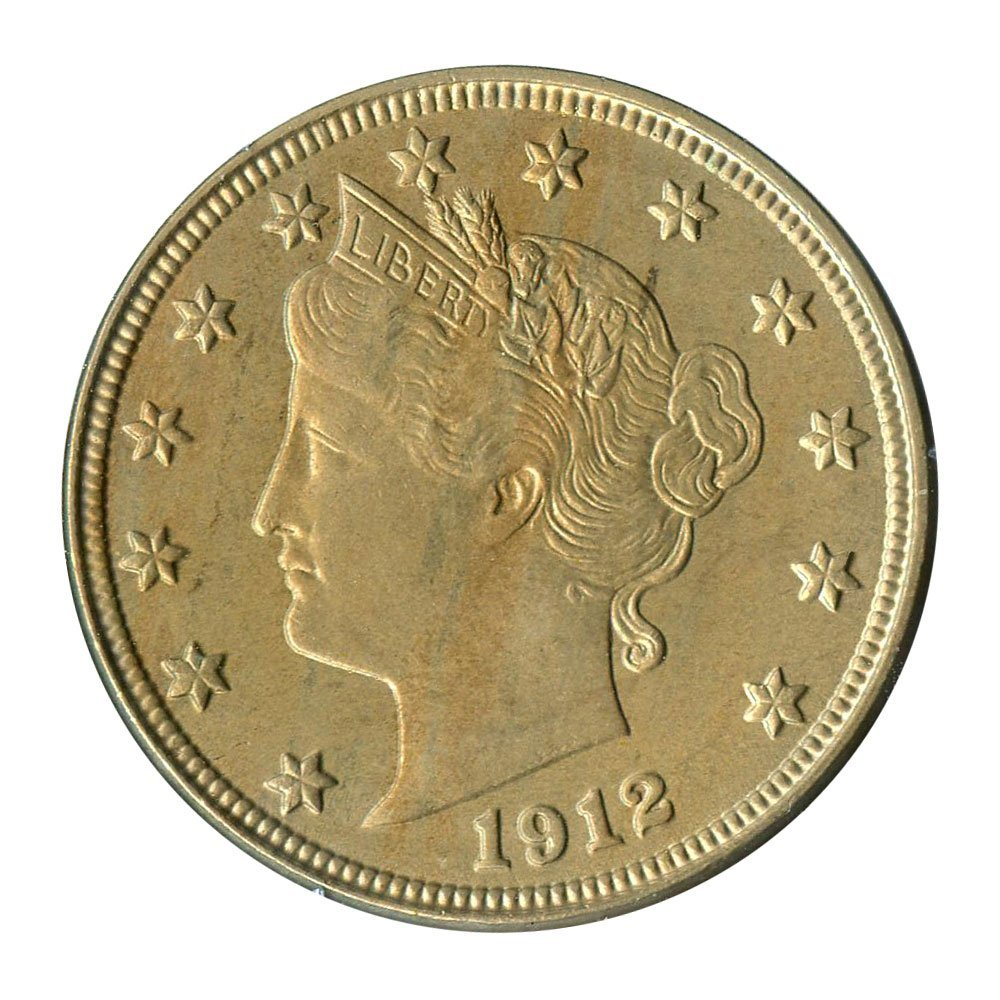 Rare coin for sale: 1912 D V-Nickels Nickel PCGS MS63