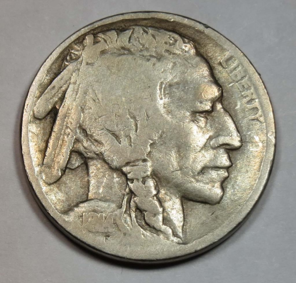 Rare coin for sale: 1914 S Buffalo Nickel Nickel Seller Fine