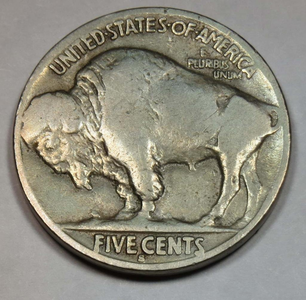 1914 S Buffalo Nickel Nickel Seller Fine