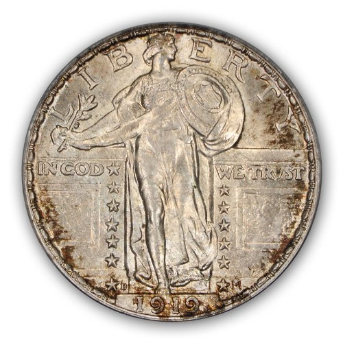 For sale: 1919 D Standing Liberty Quarter PCGS MS66FH
