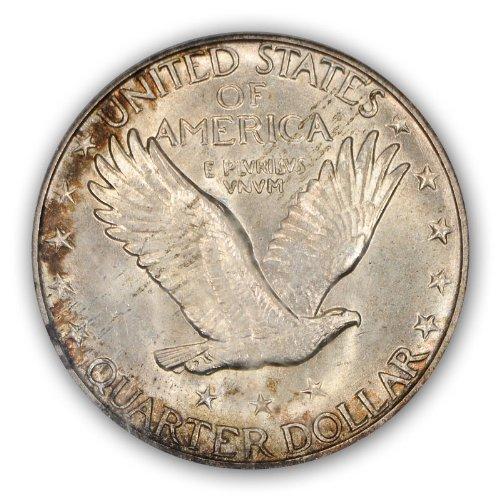 1919 D Standing Liberty Quarter PCGS MS66FH