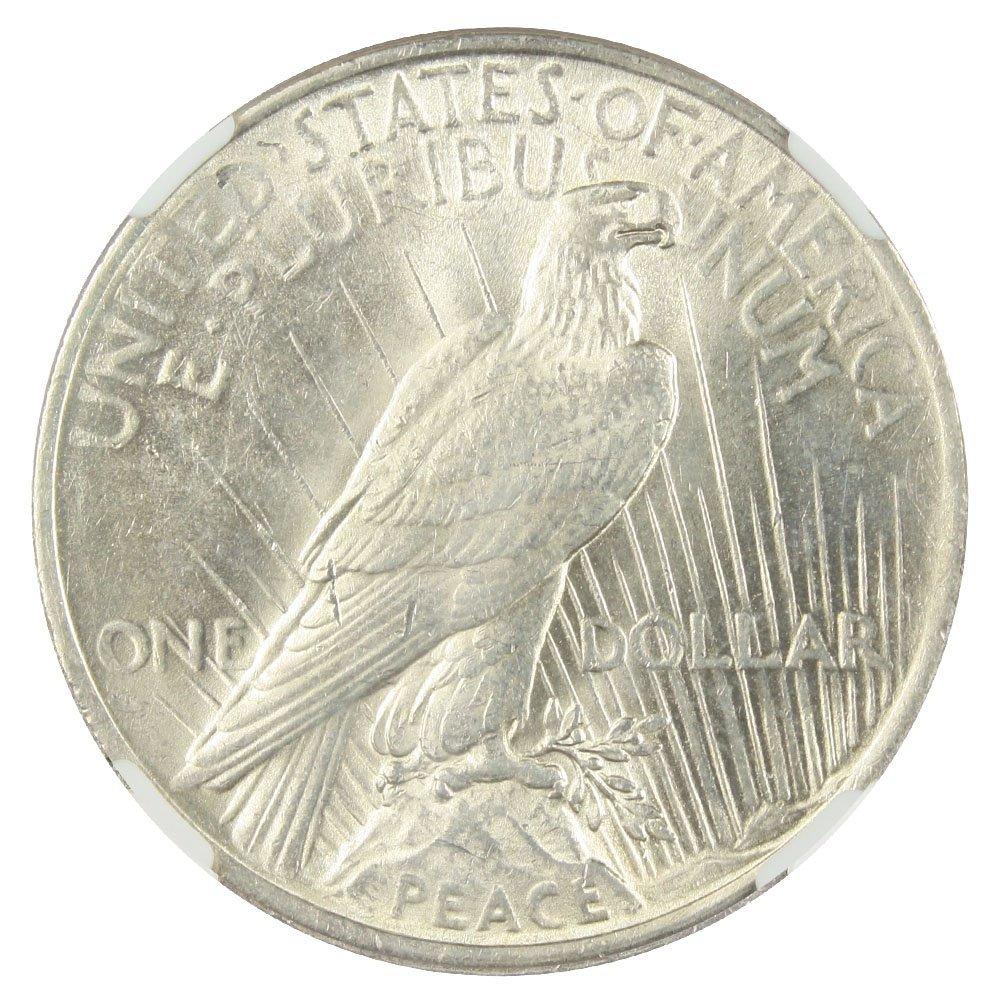 1922 P Peace Dollars Dollar NGC AU58