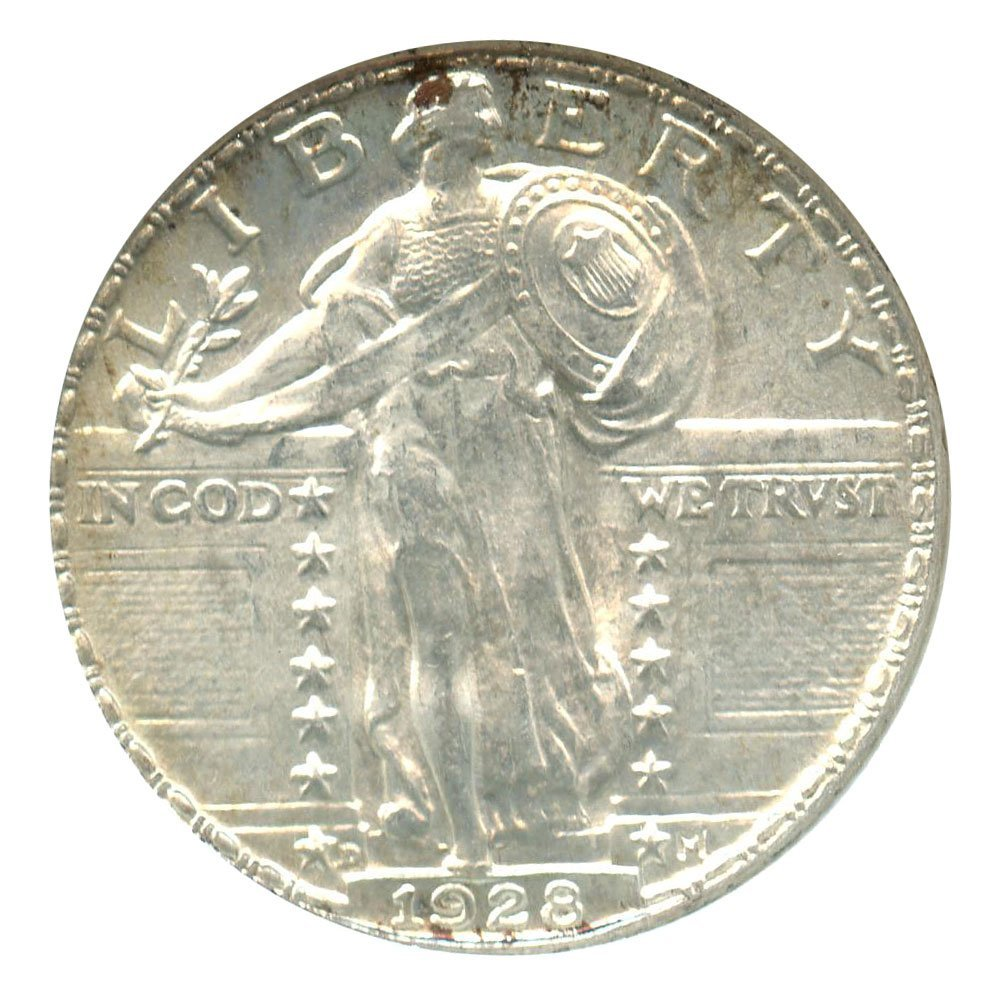 Rare coin for sale: 1928 D Standing Liberty Quarters Quarter NGC MS65