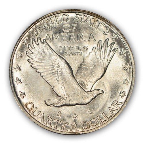 1929 S Standing Liberty Quarter PCGS MS67 -- Reverse