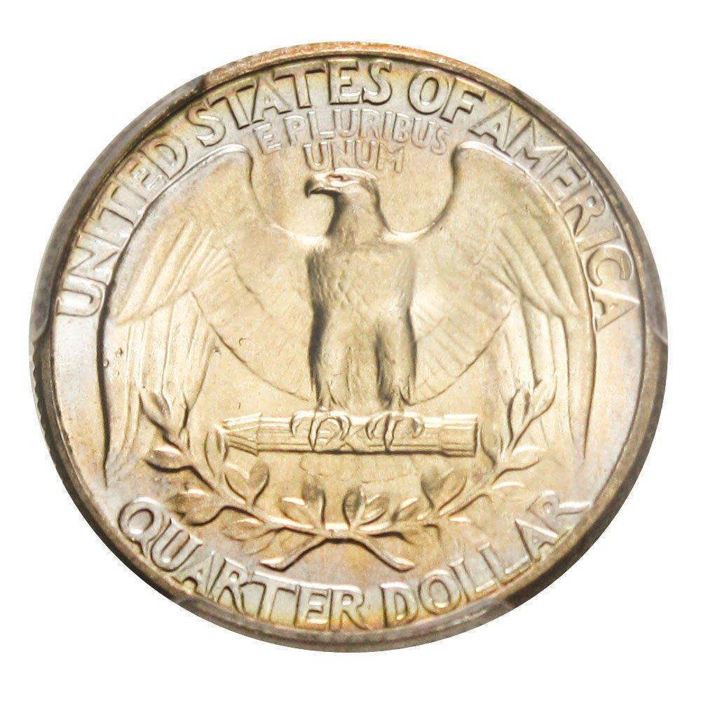 1934 P Washington Quarters (1932-98) Light Motto Quarter PCGS\CAC MS67