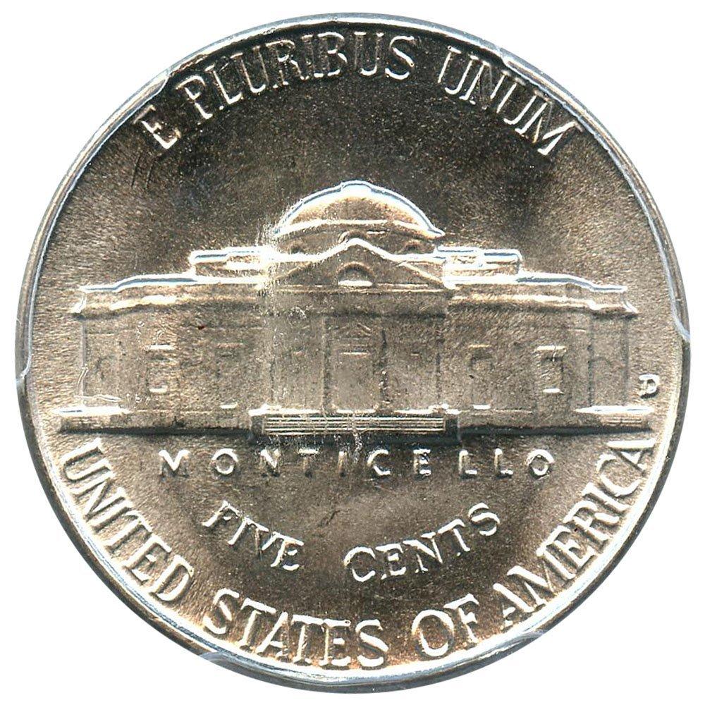 1946 D Jefferson Nickels Nickel FS PCGS MS66
