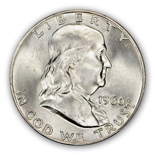 For sale: 1960 P Franklin Half Dollar PCGS MS66