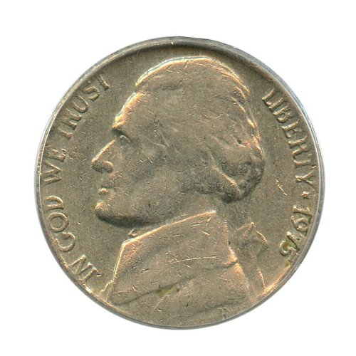Rare coin for sale: 1975 P Jefferson Nickels Wrong Planchets Nickel PCGS VF20