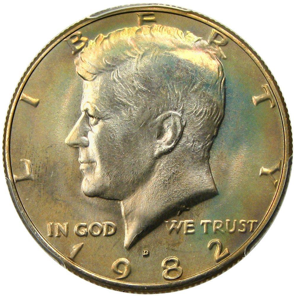 Rare coin for sale: 1982 D Kennedy Half Dollars Half Dollar PCGS MS67