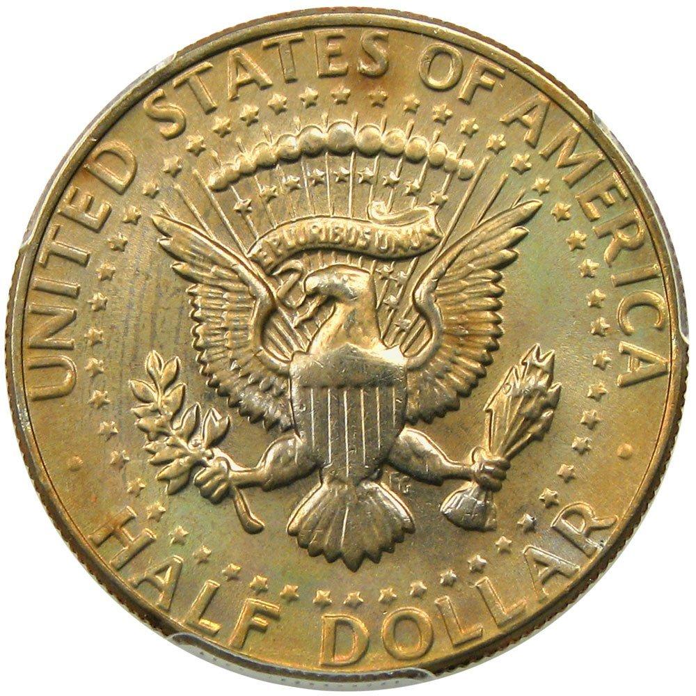 1982 D Kennedy Half Dollars Half Dollar PCGS MS67