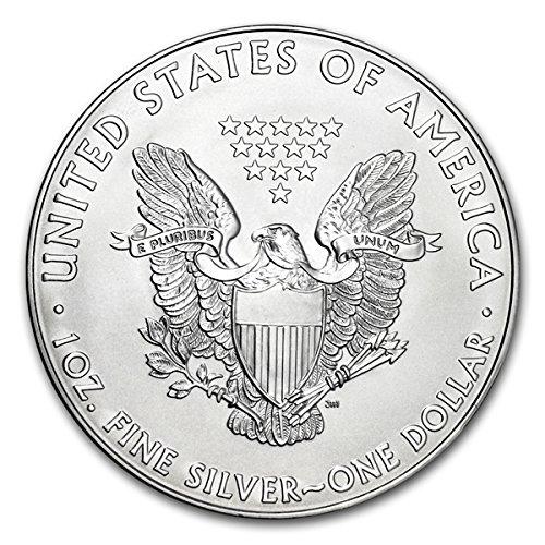2000 1 oz American Silver Eagle .999 Fine Silver Uncirculated Silver Dollar US Mint