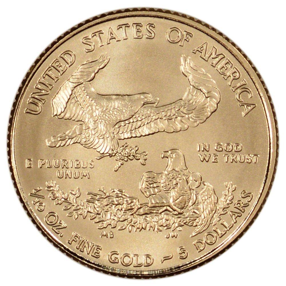 2014 American Gold Eagle $5 US Mint BU