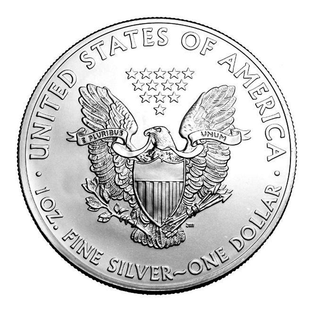 2014 No Mint Mark 2014 American Silver Eagle Dollar Seller Choice Uncirculated