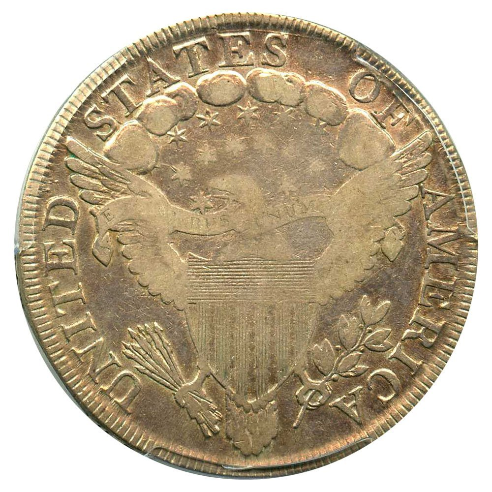 1799 P Bust Dollars 1799/8 Dollar VF20 PCGS