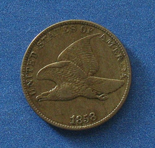 Rare coin for sale: 1858 Flying Eagle Cent Penny Large Letters XF