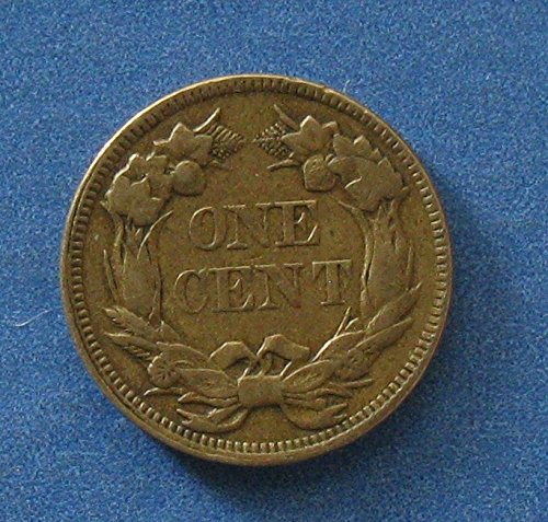 1858 Flying Eagle Cent Penny Large Letters XF