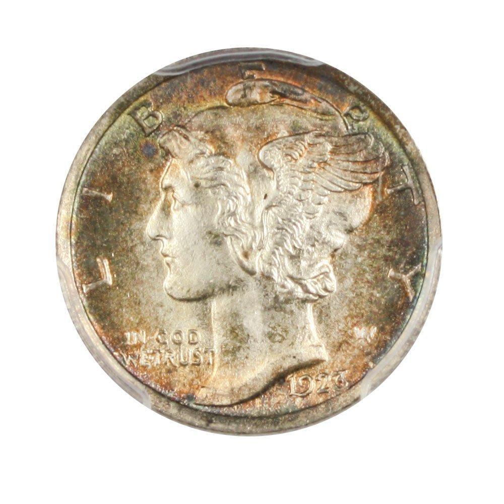 Rare coin for sale: 1923 P Mercury Dimes Dime FB PCGS MS67