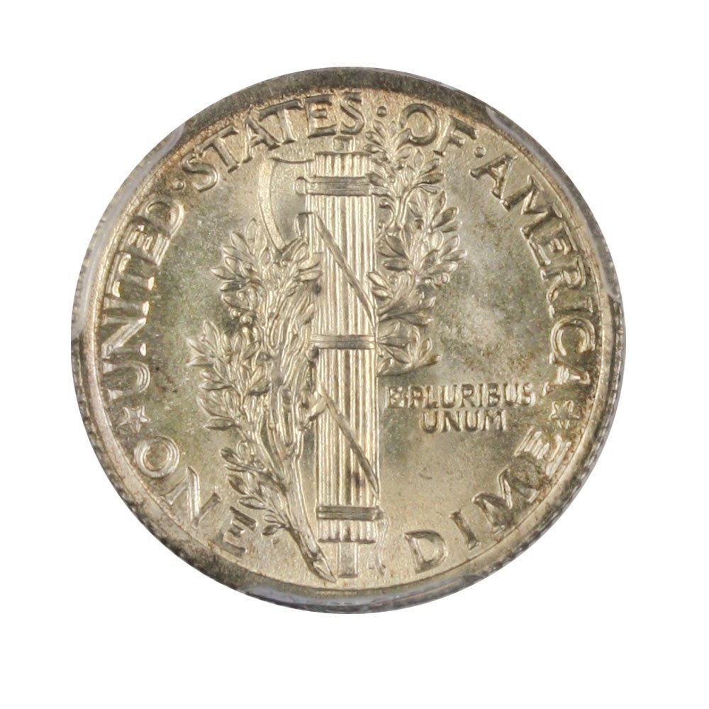 1923 P Mercury Dimes Dime FB PCGS MS67