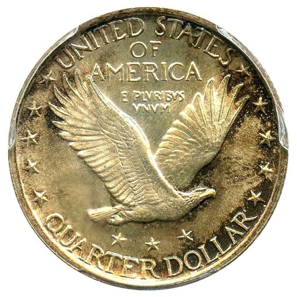 1923 P Standing Liberty Quarters Quarter PCGS MS66