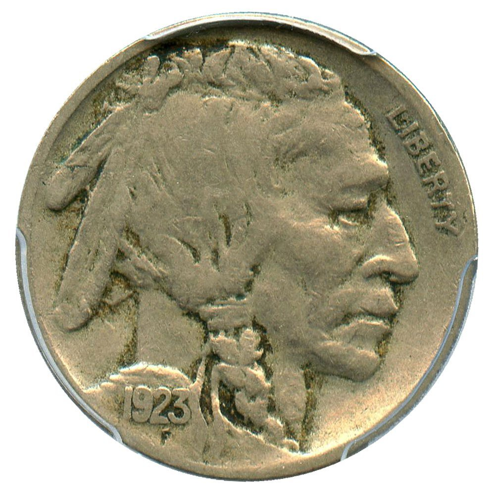 rare coin for sale: 1923 S Buffalo Nickels Nickel PCGS VF30