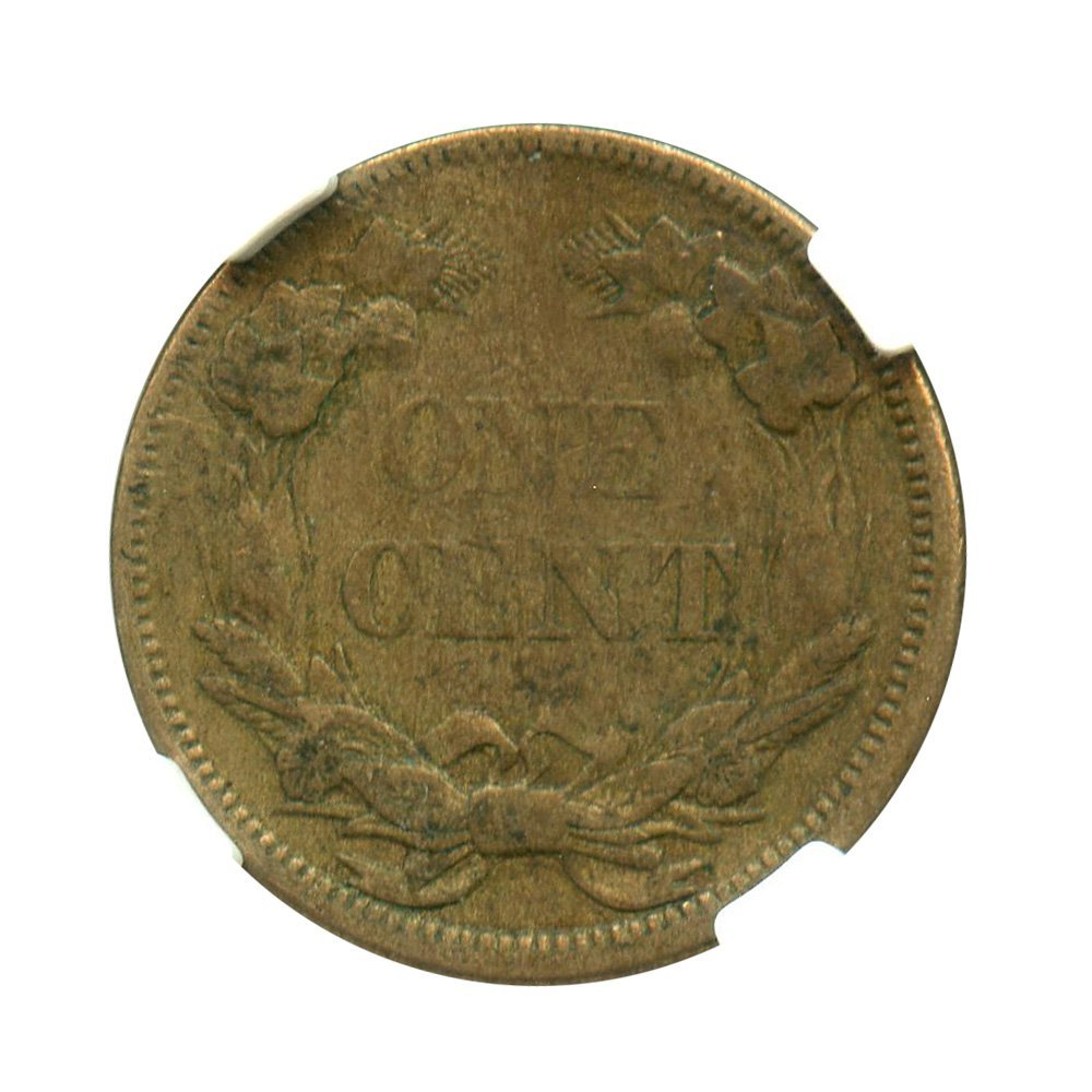 1858 P Flying Eagle Cents Flying Eagle Small Letters Cent VF35 NGC