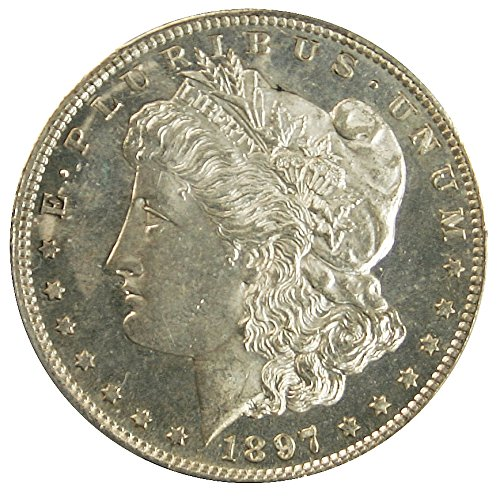 rare coin for sale: 1897 Morgan $1 PL PCGS MS63