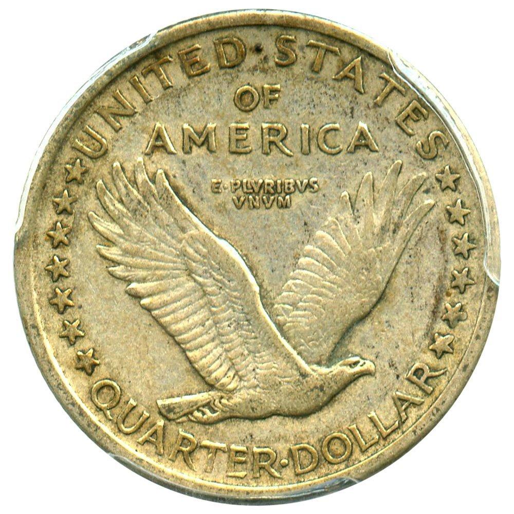 1917 P Standing Liberty Quarters Type 1 Quarter AU53 PCGS