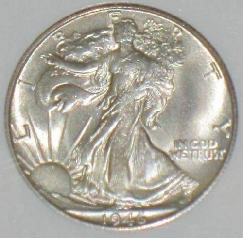 Rare coin for sale: 1946 S Walking Liberty Half Dollar MS 65 NGC