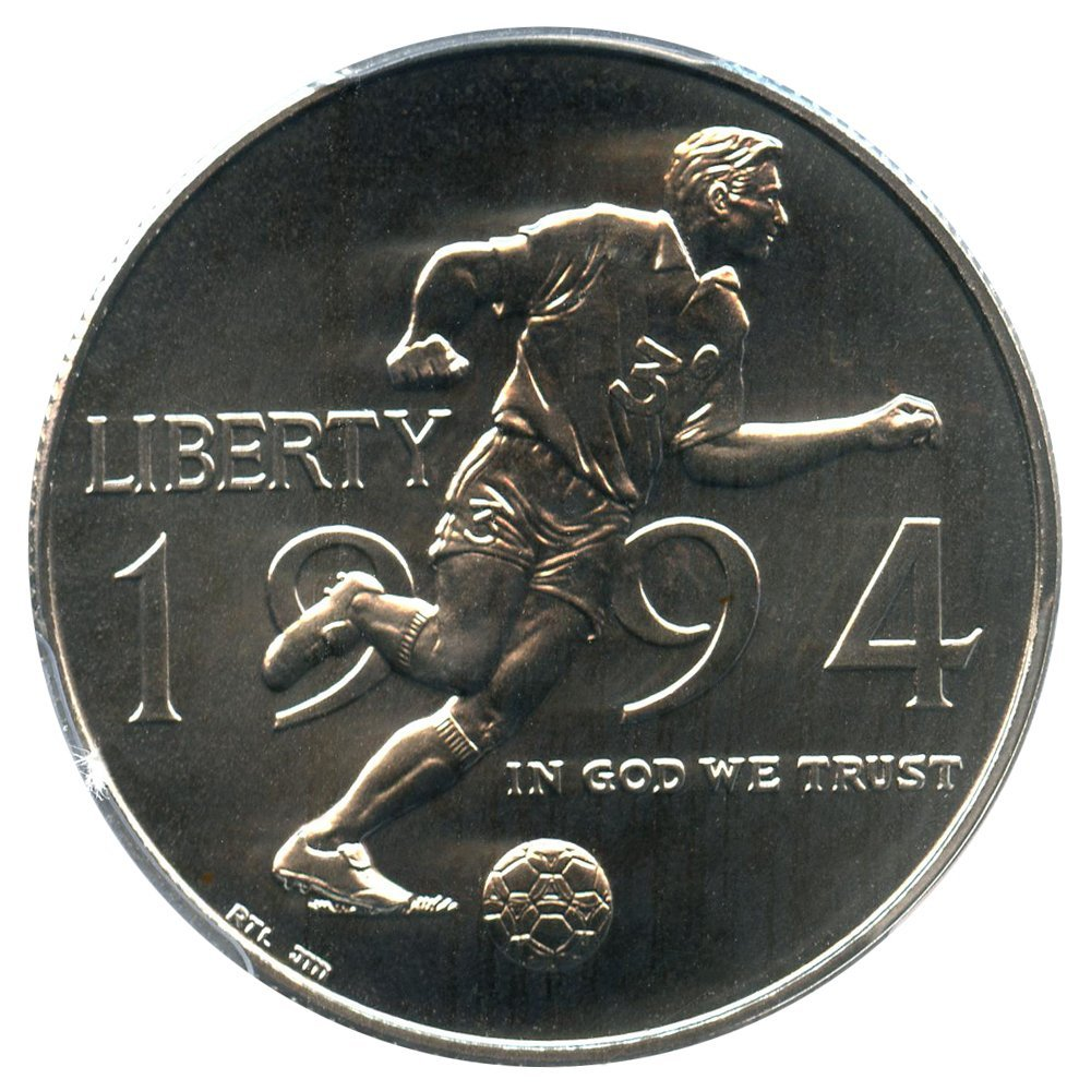 1994 D 50c Modern Commems World Cup Half Dollar MS70 PCGS