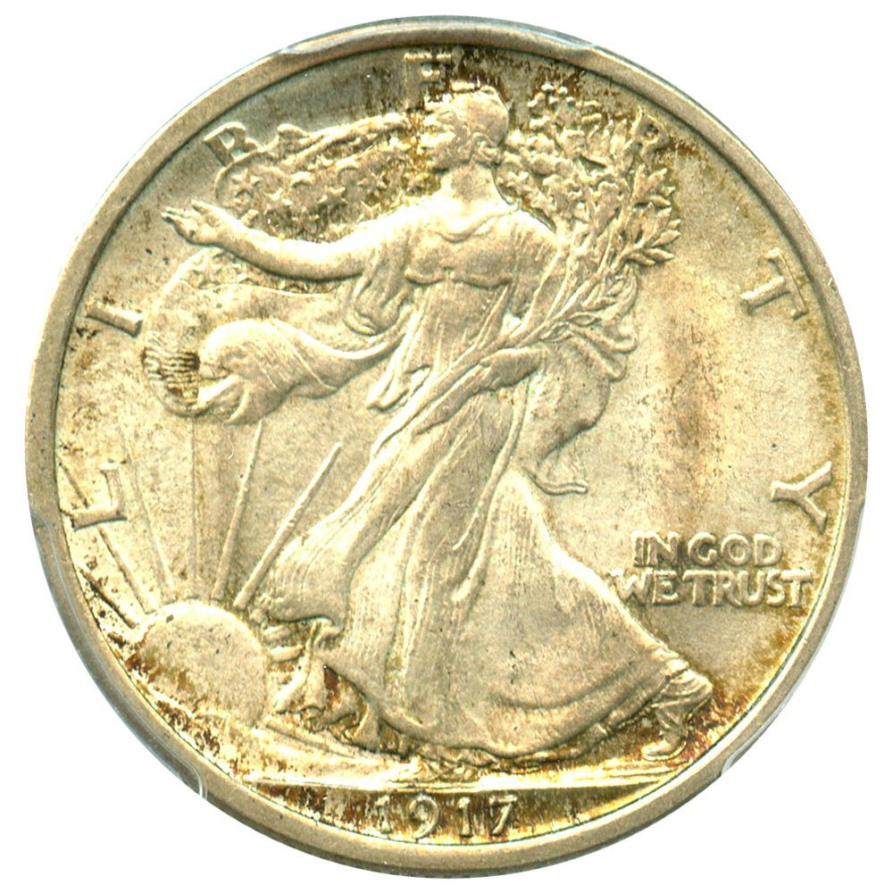 Rare coin for sale: 1917 P Walking Liberty Halves Half Dollar MS65 PCGS\CAC