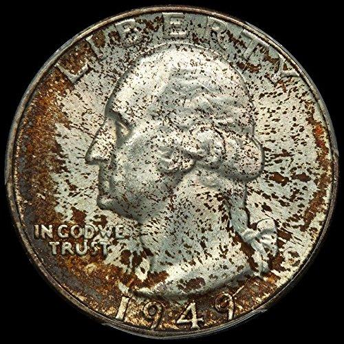 Rare coin for sale: 1949 D Washington Quarter MS-65 PCGS