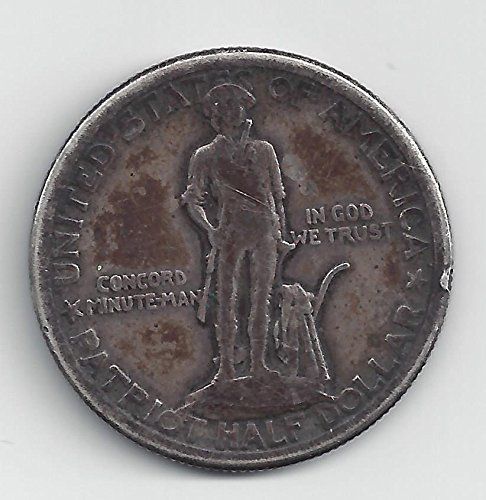 1925 Lexington-Concord Sesquicentennial Commemorative Half Dollar