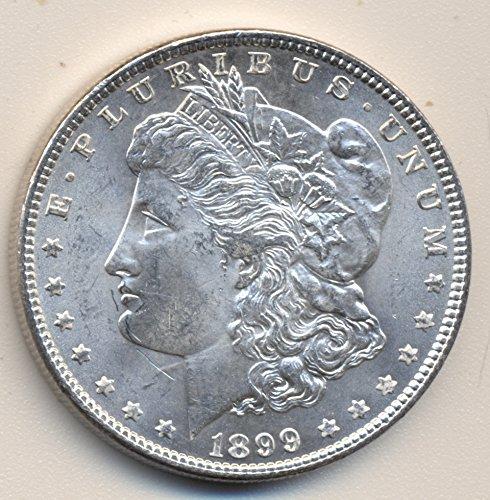 1899 Morgan Silver $1.00 GEM/CHOICE ORIGINAL BU