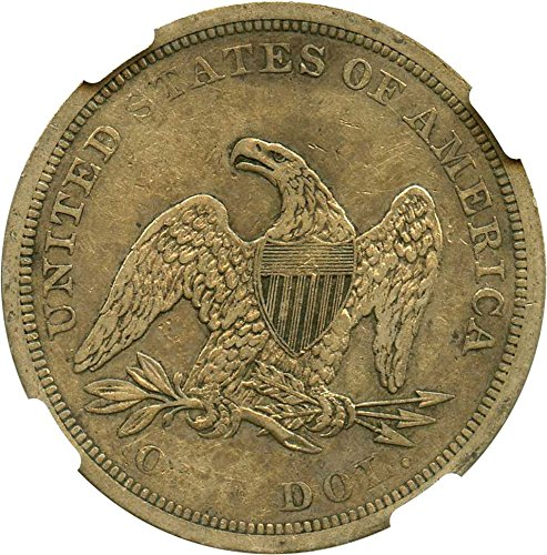1843 P Seated Dollars Dollar VF35 NGC