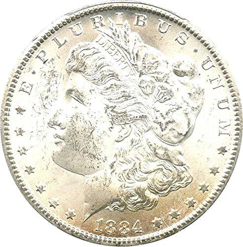 Rare coin for sale: 1884 CC Morgan Dollars Dollar MS63 PCGS