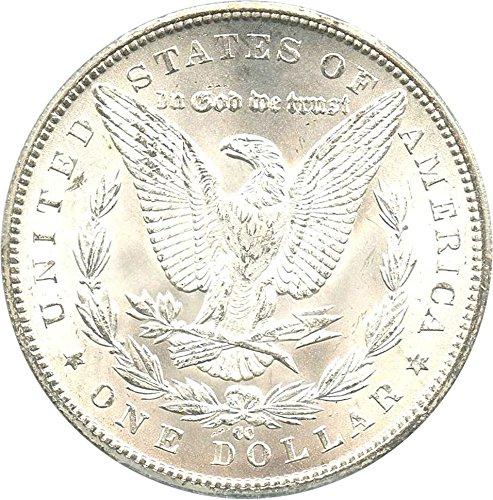 1884 CC Morgan Dollars Dollar MS63 PCGS