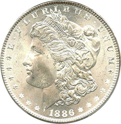 Rare coin for sale: 1886 P Morgan Dollars Dollar MS67 PCGS
