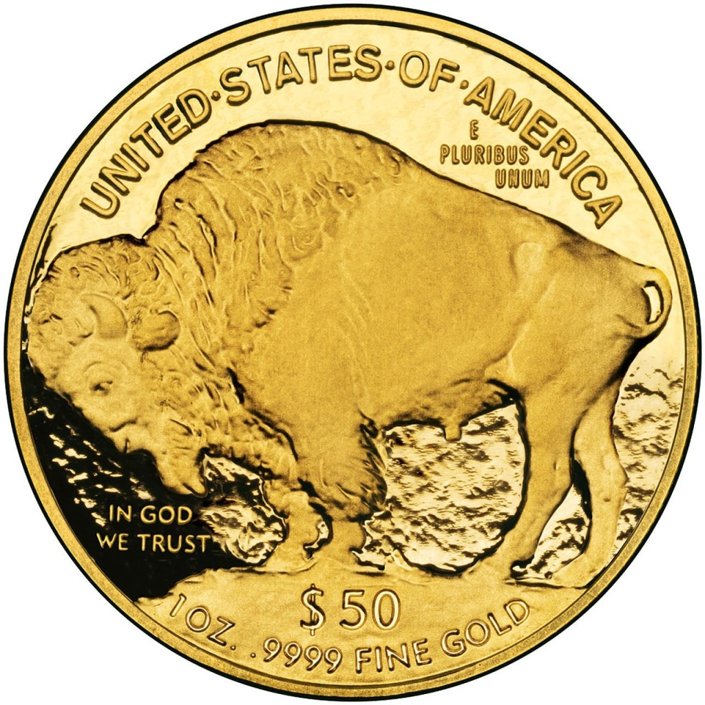 Rare coin reverse -- 2006 American Gold Buffalo Proof $50 Brilliant Uncirculated US Mint