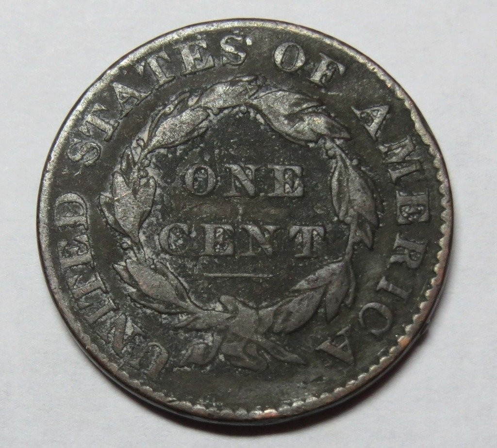 1829 Liberty Head Matron Head Large Cent Fine