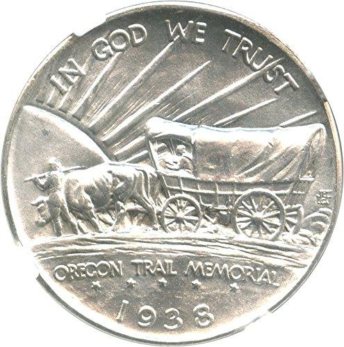 1938 P Silver Commems (1892-1954) Oregon Half Dollar MS66 NGC