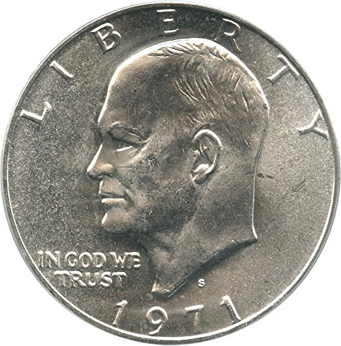 Collectible coin for sale: 1971 S Eisenhower Dollars Silver Dollar MS67 PCGS